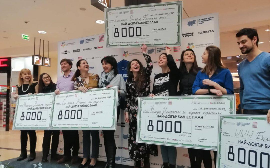 """Операция Плюшено Мече с """"Най-добър бизнес план на НПО"""""""
